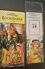 Lot of 5 Different Mary Engelbreit Bookmarks: Photo, plus Bagged Set Of Four