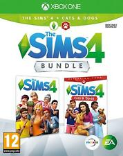 The Sims 4 Plus Cats and Dogs Bundle Xbox One Game For XB1 - NEW & SEALED