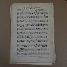 orchestra parts SHUFFLIN` SAMUEL felix burns arr warwick williams