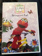 Sesame Street/ Elmo's World DVD Lot