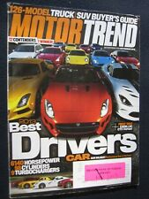 Motor Trend November 2013 Best Driver's Car Truck/SUV Buyer's Guide