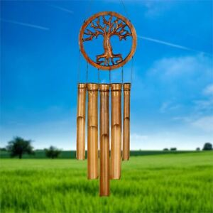 WOODSTOCK BAMBOO CHIME - Tree of Life Bamboo Chime -  CTOL