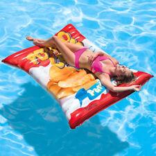 INTEX Potato Chips 178x140cm XXL Badeinsel Luftmatratze Wasserliege Schwimmliege