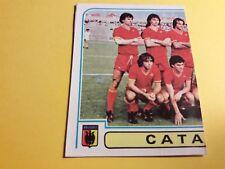SQUADRA SX CATANZARO FIGURINA ALBUM CALCIATORI PANINI 1980/81 n°115 rec