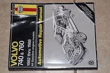 HAYNES 97040 VOLVO 740 & 760 1982-1988 GASOLINE AUTOMOTIVE REPAIR MANUAL