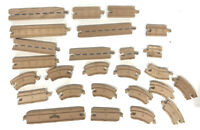 Thomas The Train Chuggington Wood Track Road Reversible Mixed Lot Of 26 Pieces
