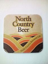Vintage NORTH COUNTRY BEER  - Cat No'02 Beermat / Coaster