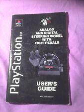 Playstation – madCatz analógica y digital Volante + Pedales Guía del usuario