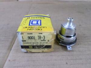 "Square D Class 9001 Type TR-3 1-3/8"" DIA Mushroom Pushbutton Operator Switch"