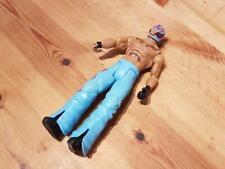 Wwe Flex Force Flip Kickin Rey Mysterio Blue Trousers Mattel
