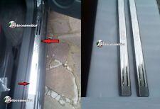 Modanaturwe ACCIAIO INOX FIAT 500 2007>2 BATTITACCO SOTTO PORTA CON LOGO CROMATO