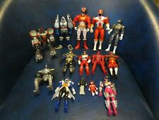 Bandai Power Rangers Figures Vintage Lot