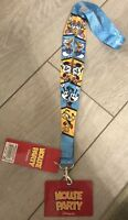 Disneyland Paris LANIERE Pin / LANYARD MICKEY CELEBRATION SOUVENIR