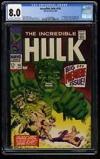 Incredible Hulk (1968) #102 CGC VF 8.0 Off White to White Marvel Comics