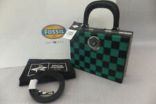Fossil x Opening Ceremony Satchel Check Clucth Crossbody Bag BNWT RRP £339