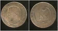 5 centimes NAPOLEON III 1854 BB  petite abeille (2)