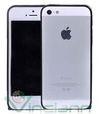 Custodia BUMPER metallo BLACK per Apple iPhone 5s 5 alluminio NERO nuovo
