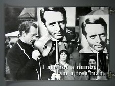"""The Prisoner, Patrick McGoohan Poster """"I Am Not A Number"""" 24 x 36 Inches CULT TV"""