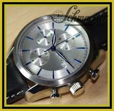 Automatic Chronograph Alfons Doller Valjoux 7750 with Glass Bottom SAPPHIRE NEW