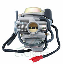 New Sunl 24mm 150cc 150 Carburetor 4 Stroke Chinese Scooter Moped Carb