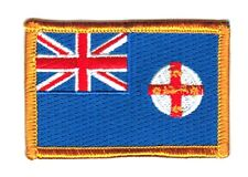 NEW SOUTH WALES AUSTRALIA PROVINCE FLAG PATCHES COUNTRY PATCH BADGE EMBROIDERED