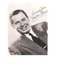 Milton Berle-signed VINTAGE photo - JSA