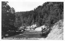 RPPC Mt. Lemmon Store & Inn - Summerhaven, AZ c1950s Vintage Photo Postcard