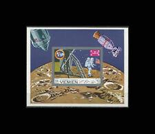 YEMEN, BL161B, MNH, 1969, S/S, Space, Apollo 11, Moon Landing, GDDAR6