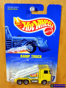 Hot Wheels Ramp Truck [Metal body & base] Tow - New/Sealed/XHTF Vintage [E-808]
