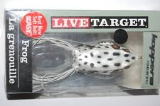 """koppers live target surface frog 2 1/4"""" 5/8oz albino white fgh55t516"""
