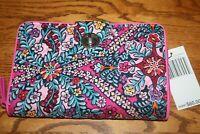 Vera Bradley Iconic RFID Turnlock Wallet Kaleidoscope clutch floral pink New