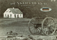 DUNKER CHURCH Wood Relic * Historic Antietam Battlefield Civil War Piece Lincoln