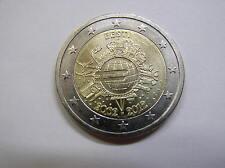 Estland , 2 Euro 2012 UNC  , 10 Jahre Euro-Bargeld