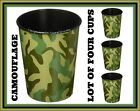 Designware 16oz Party Cups ❤️ Lot of Four ❤️ Plastic Favor Stadium Keepsake Cup