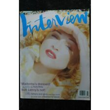 INTERVIEW JUNE 1993 COVER MADONNA'S DRESSED ! IN PHOTOS BY HERB RITTS BUTT LENNY