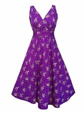 Retro Regular Dresses for Women with Belt