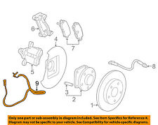 GM OEM ABS Anti-lock Brakes-Rear Speed Sensor 23483151