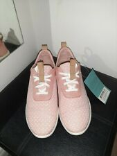 TOMS Women CabrilloCoral Pink Printed Dots Heritage Canvas