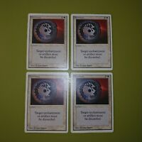 Disenchant x4 Unlimited Edition 4x Playset Magic the Gathering MTG