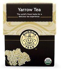 Yarrow Tea, Buddha Teas, 18 tea bag 1 pack