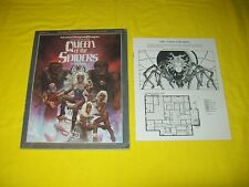 GDQ 1-7 QUEEN OF THE SPIDERS DUNGEONS & DRAGONS AD&D TSR 9179 - 4 SUPERMODULE