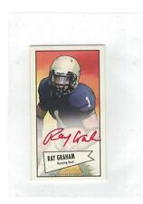 2013 RAY GRAHAM BOWMAN 52 MINI RED INK AUTO RC SP /5 ONLY 5 MADE INCREDIBLY RARE