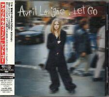 Avril Lavigne Let Go JAPAN CD with OBI BVCA-24007