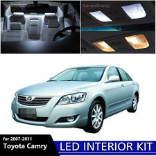 12PCS White Interior LED Light Package Kit For 2007 - 2011 Toyota Camry