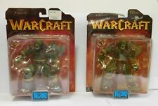 Blizzard WarCraft Orc Grunt Collection 1 Epic Action Figure 2 Orc Grunt Figures