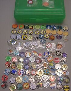 APPROXIMATELY 100 GEOCACHING PATHTAGS (SOME DUPLICATES)