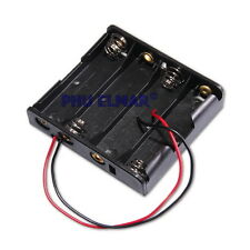 4x AAA Contenitore Porta Batteria per Batterie Mini Stilo Tipo Posti Adiacenti