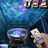 Romantic Ocean Wave LED Music Projector Relaxing Night Light Remote Control Lamp