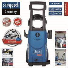 Scheppach HCE2400 Hochdruckreiniger 2400W 180bar 450l/h mit Flächenreiniger
