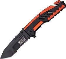 Coltello MTech Rescue Orange Soccorso MTA856OR Knife Messer Couteau Navaja